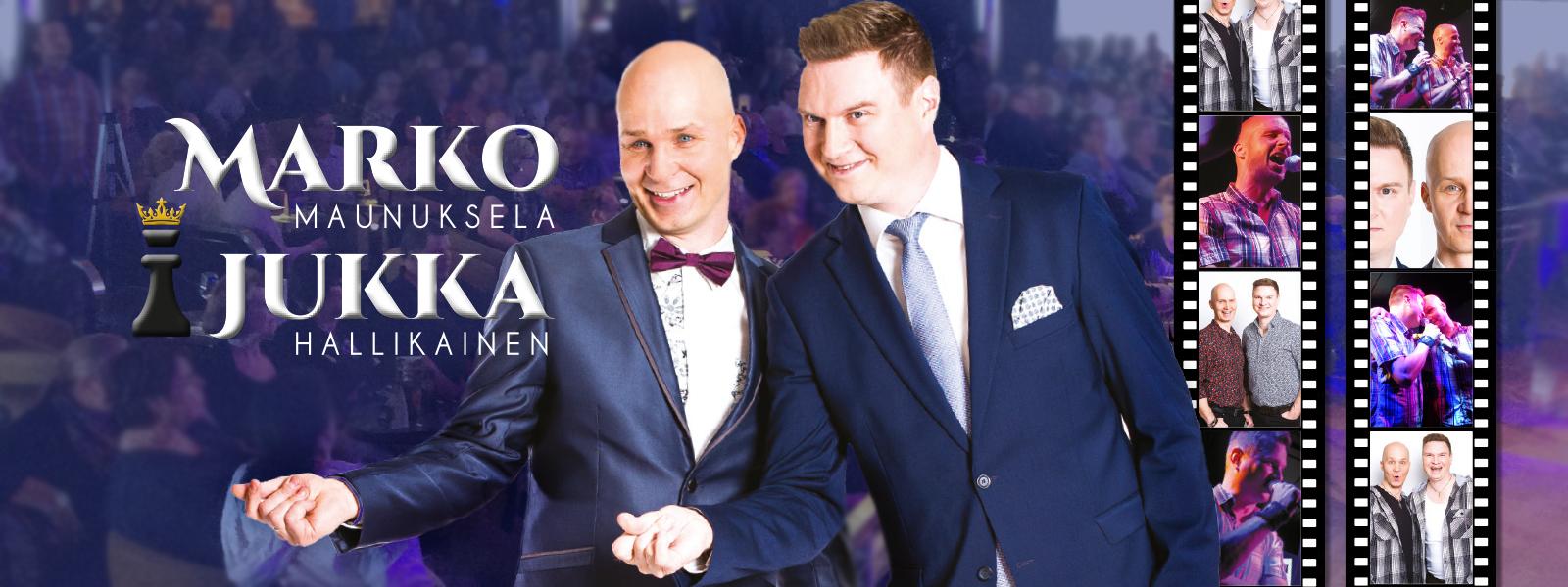 Marko ja Jukka – duo iskee komeetan lailla kesästä 2018 alkaen.