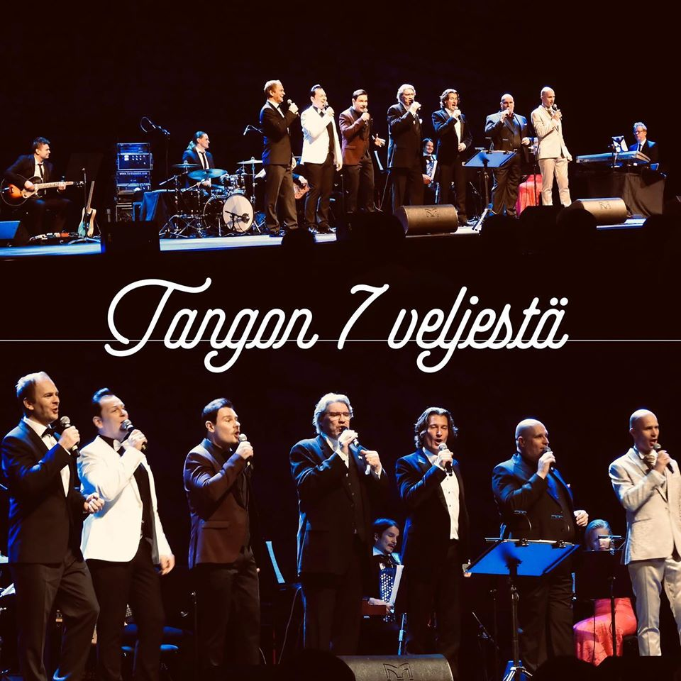 Tangon seitsemän veljestä – kiertue on käynnistynyt