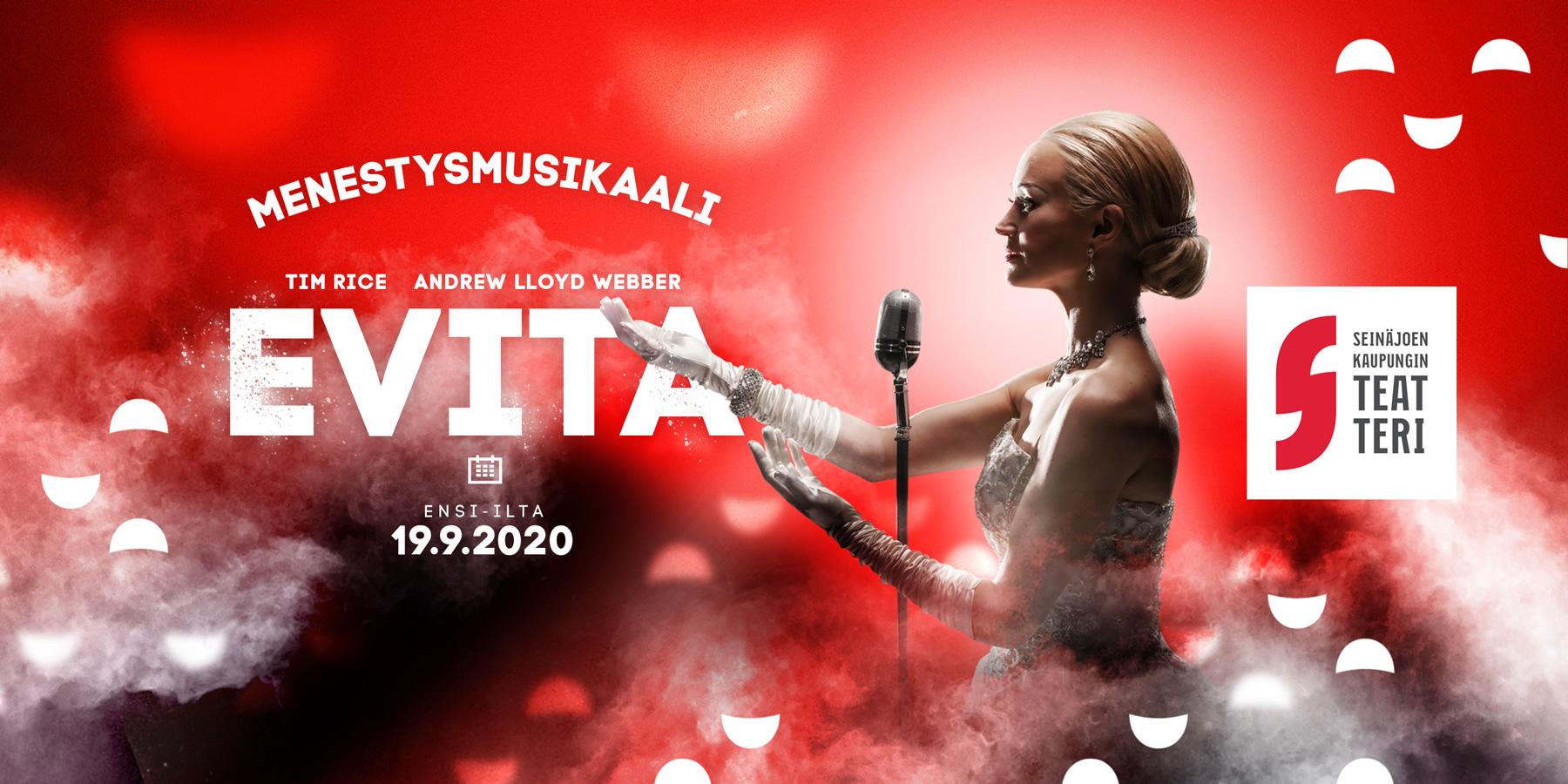 Marko mukaan EVITA musikaaliin! Ensi-ilta 19.9.2020